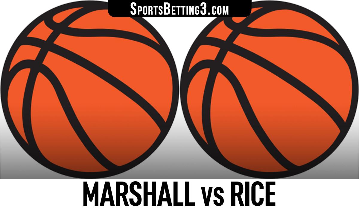 Marshall vs Rice Betting Odds