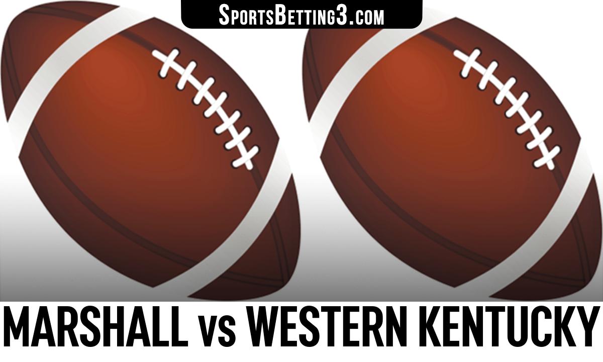 Marshall vs Western Kentucky Betting Odds