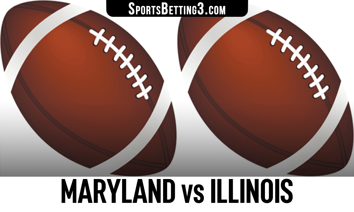 Maryland vs Illinois Betting Odds