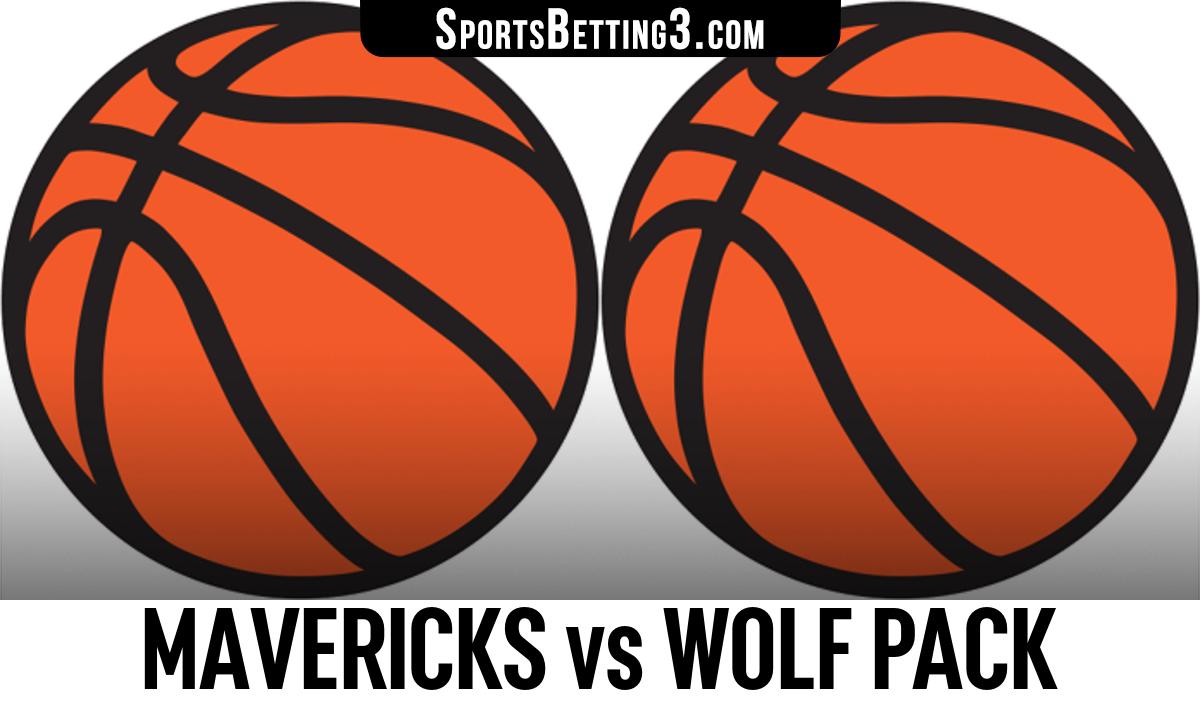 Mavericks vs Wolf Pack Betting Odds