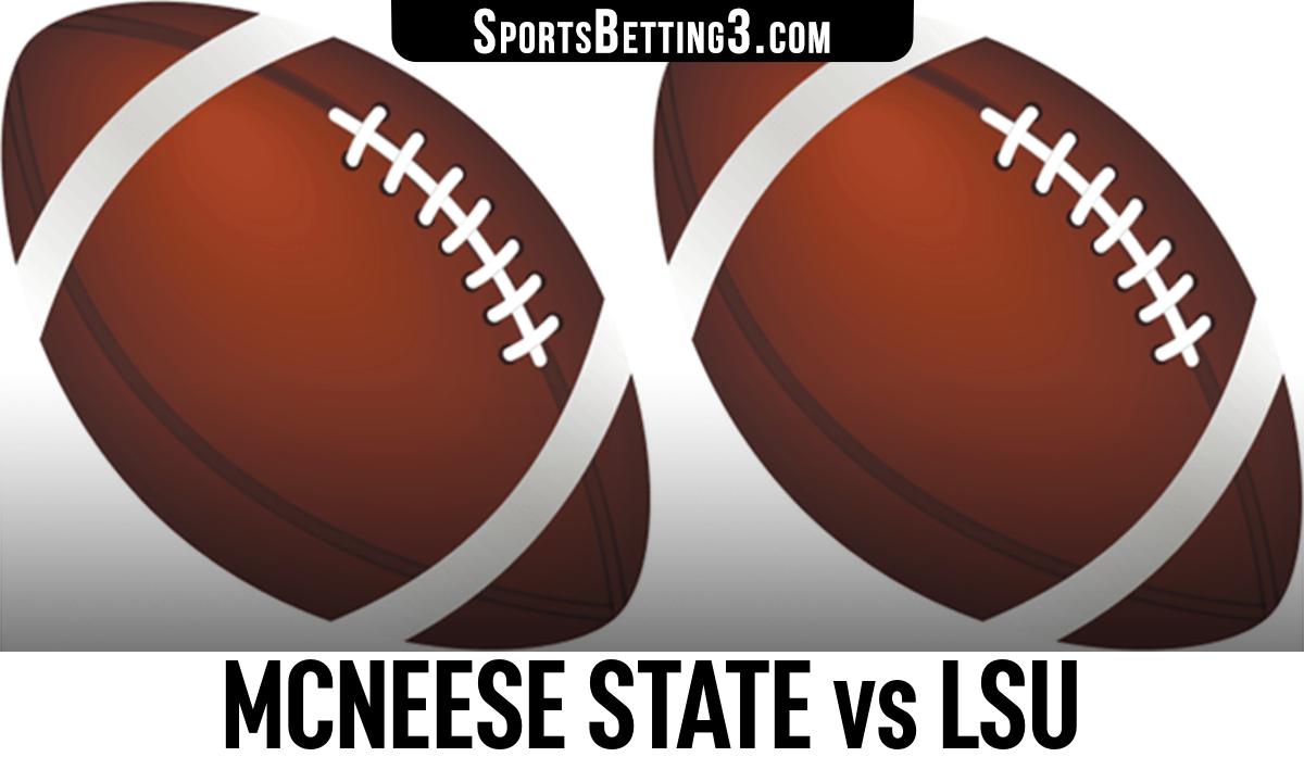 McNeese State vs LSU Betting Odds