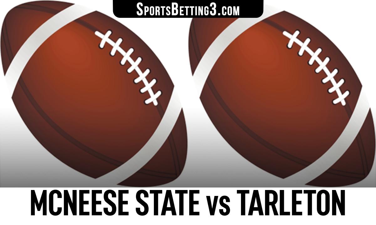 McNeese State vs Tarleton Betting Odds