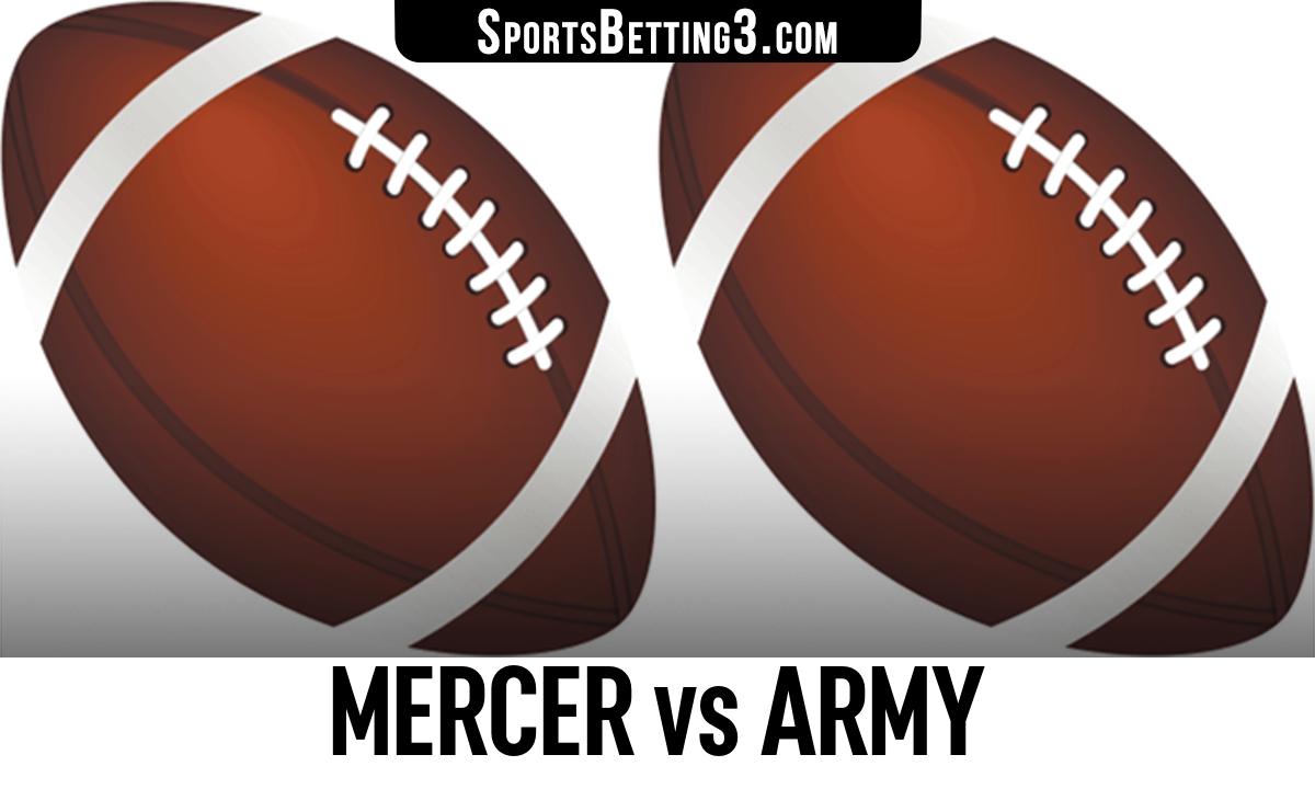 Mercer vs Army Betting Odds