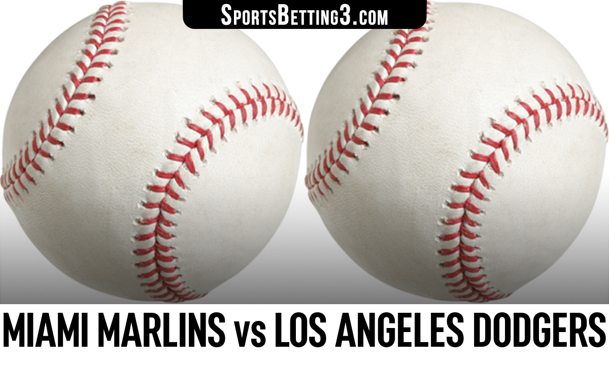 Miami Marlins vs Los Angeles Dodgers Betting Odds