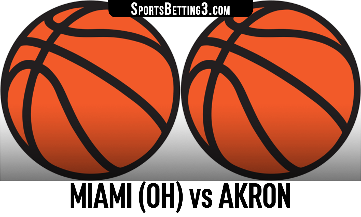 Miami (OH) vs Akron Betting Odds