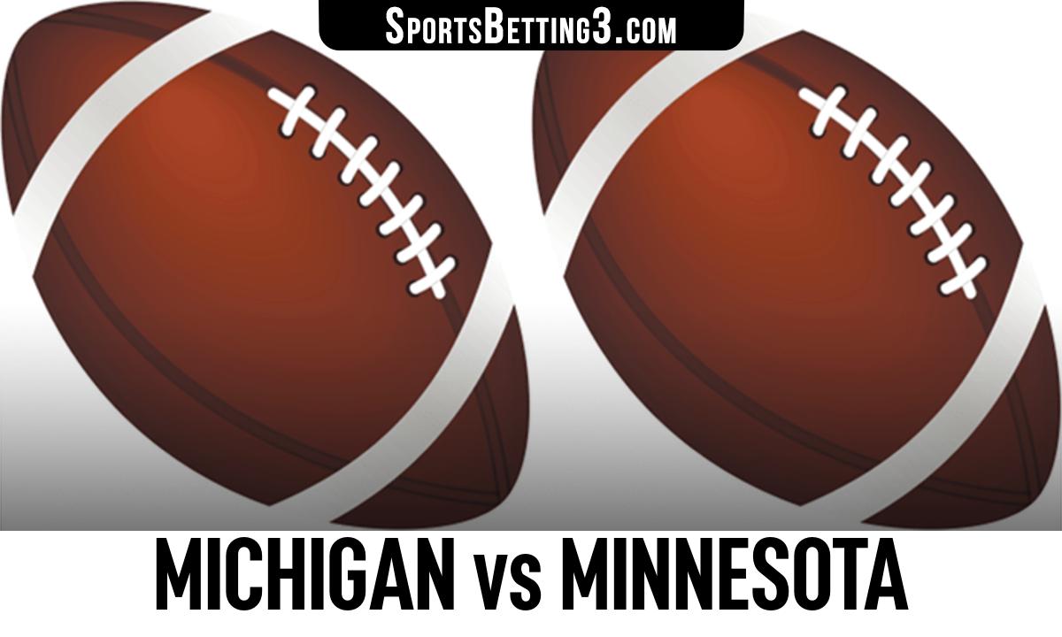 Michigan vs Minnesota Betting Odds