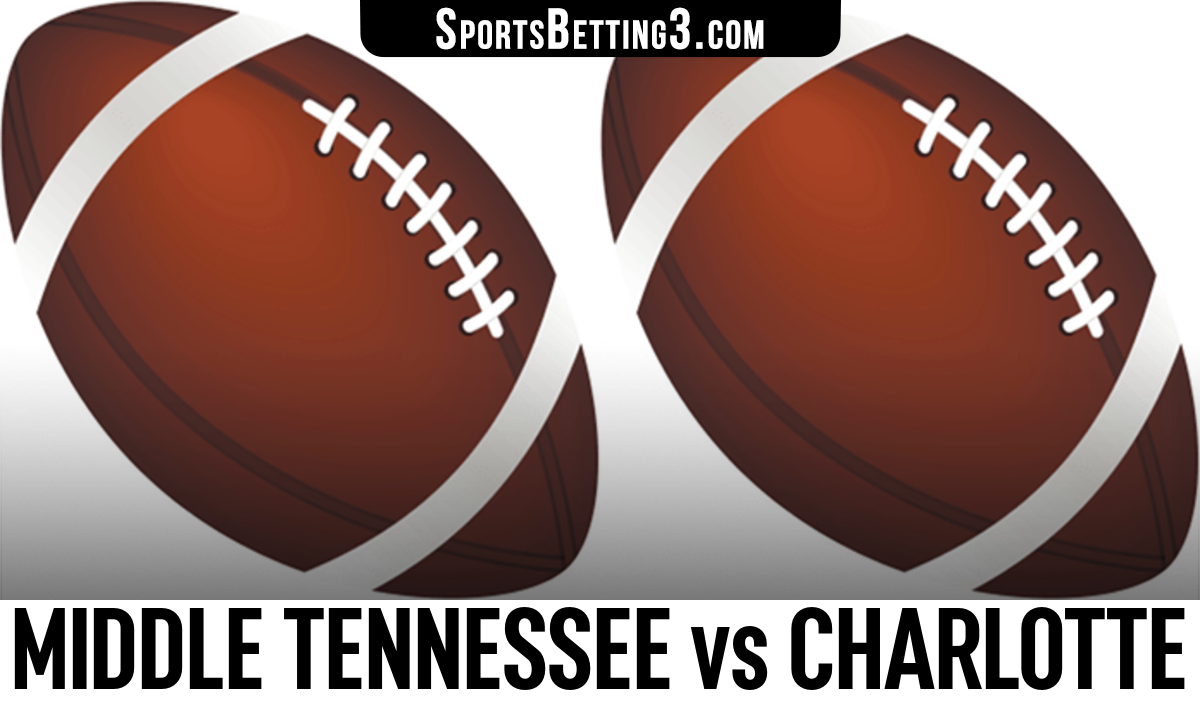 Middle Tennessee vs Charlotte Betting Odds