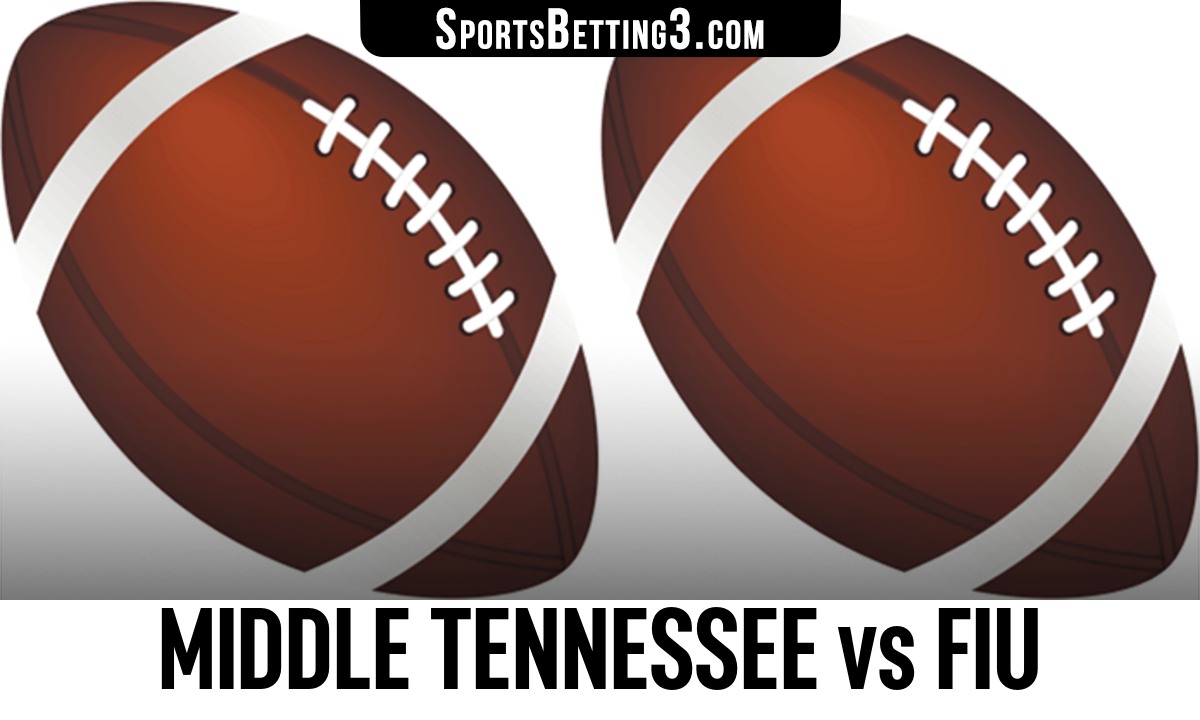 Middle Tennessee vs FIU Betting Odds