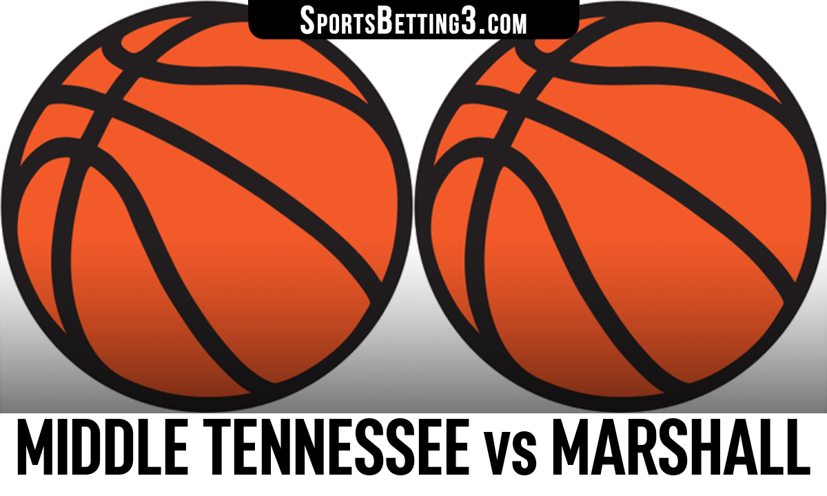 Middle Tennessee vs Marshall Betting Odds