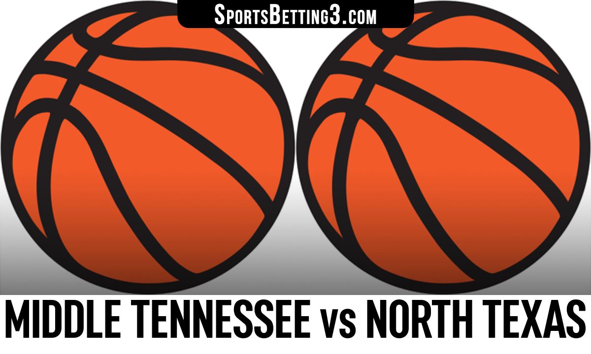 Middle Tennessee vs North Texas Betting Odds