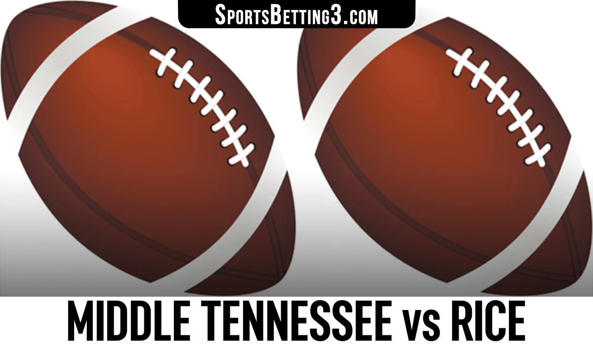 Middle Tennessee vs Rice Betting Odds