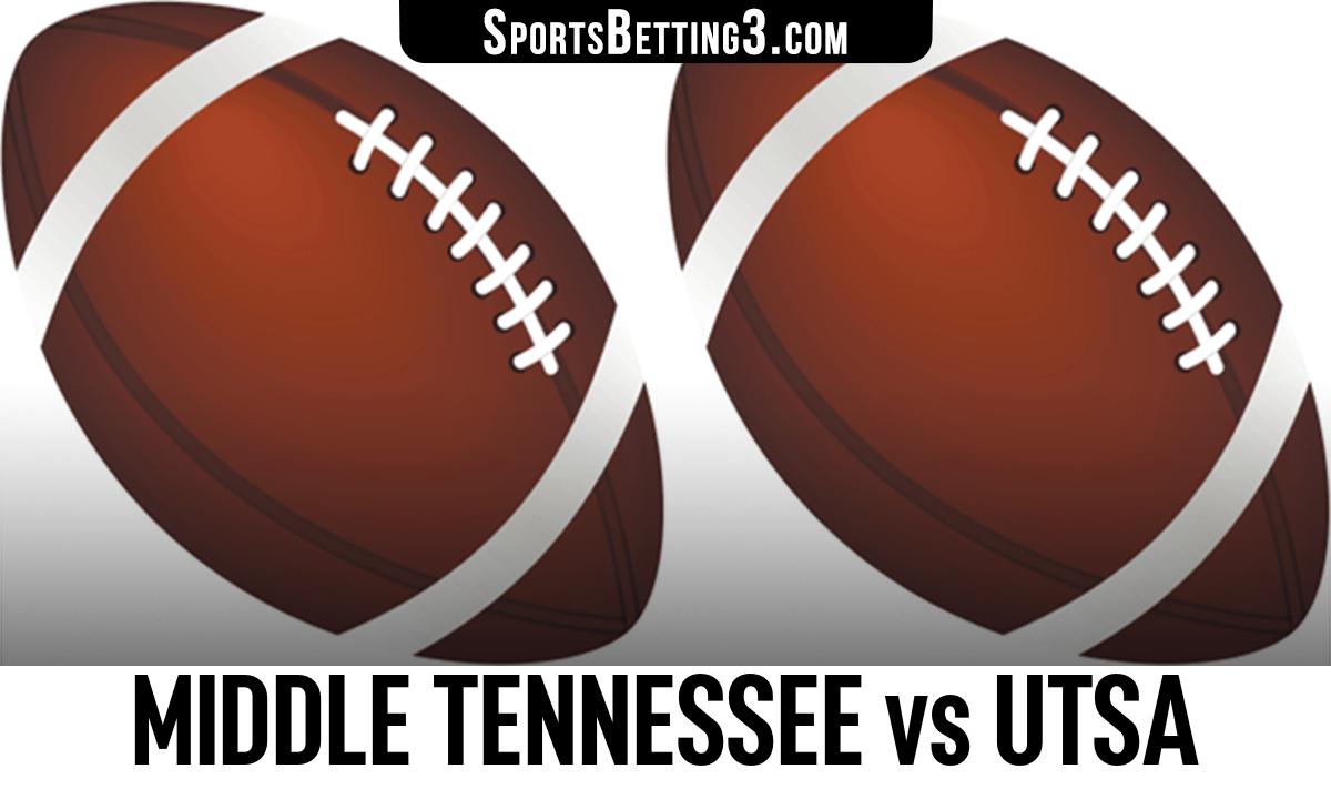 Middle Tennessee vs UTSA Betting Odds