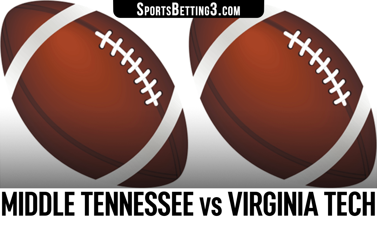 Middle Tennessee vs Virginia Tech Betting Odds