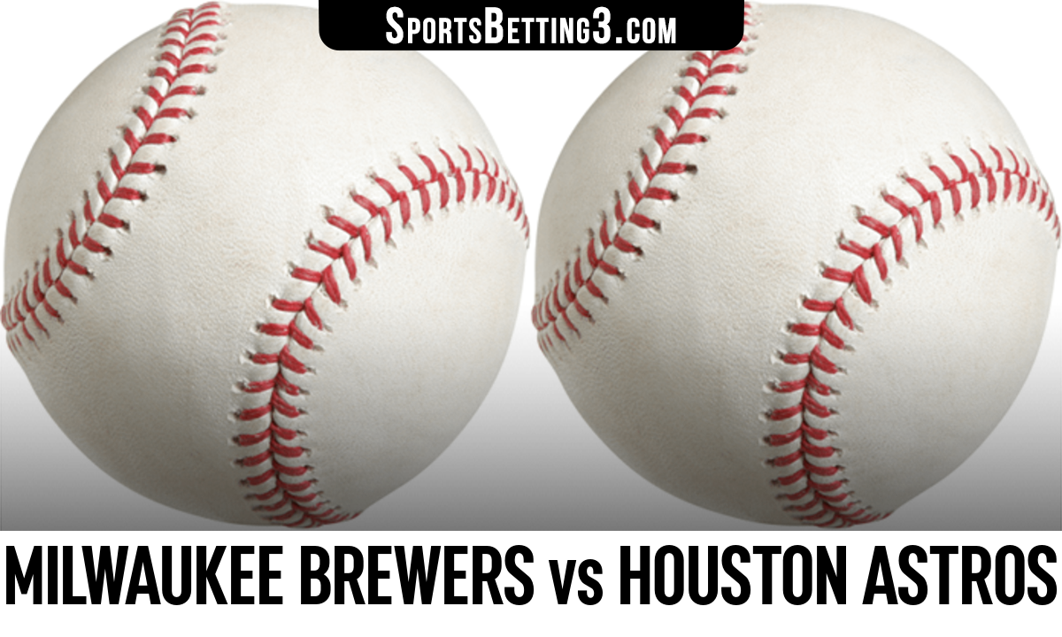Milwaukee Brewers vs Houston Astros Betting Odds