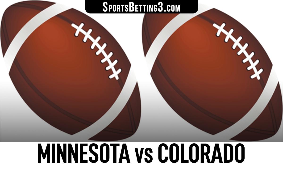 Minnesota vs Colorado Betting Odds