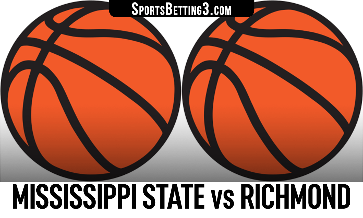 Mississippi State vs Richmond Betting Odds