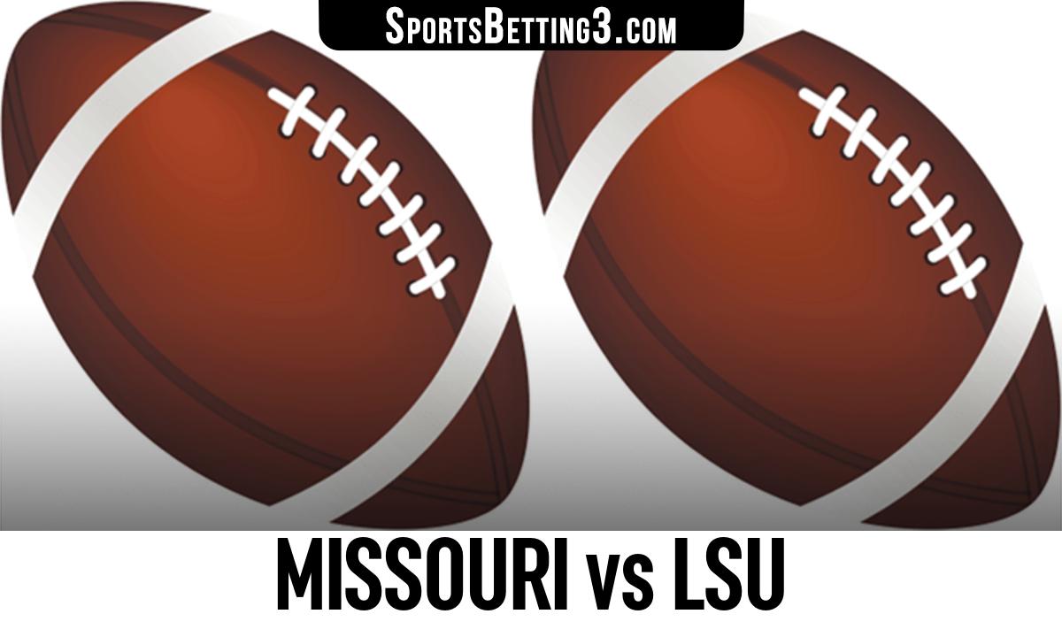Missouri vs LSU Betting Odds