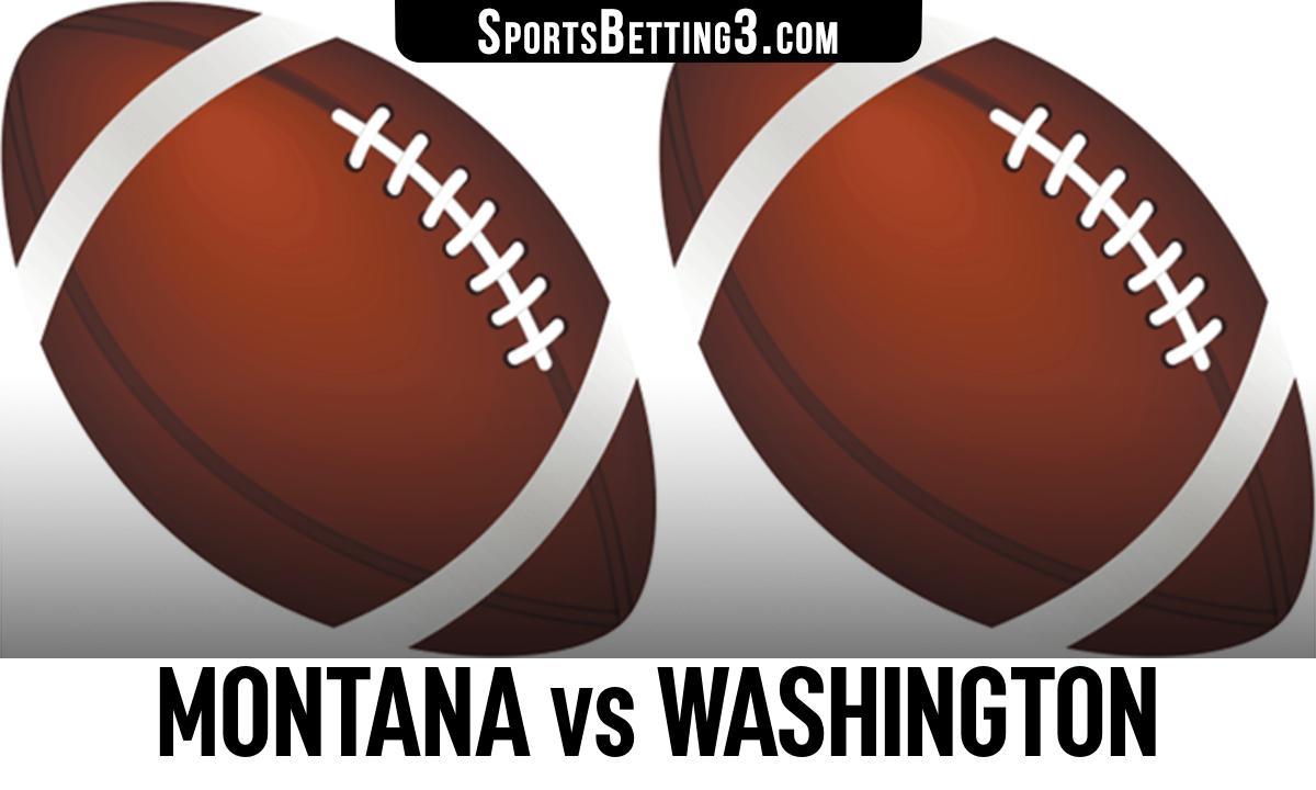 Montana vs Washington Betting Odds