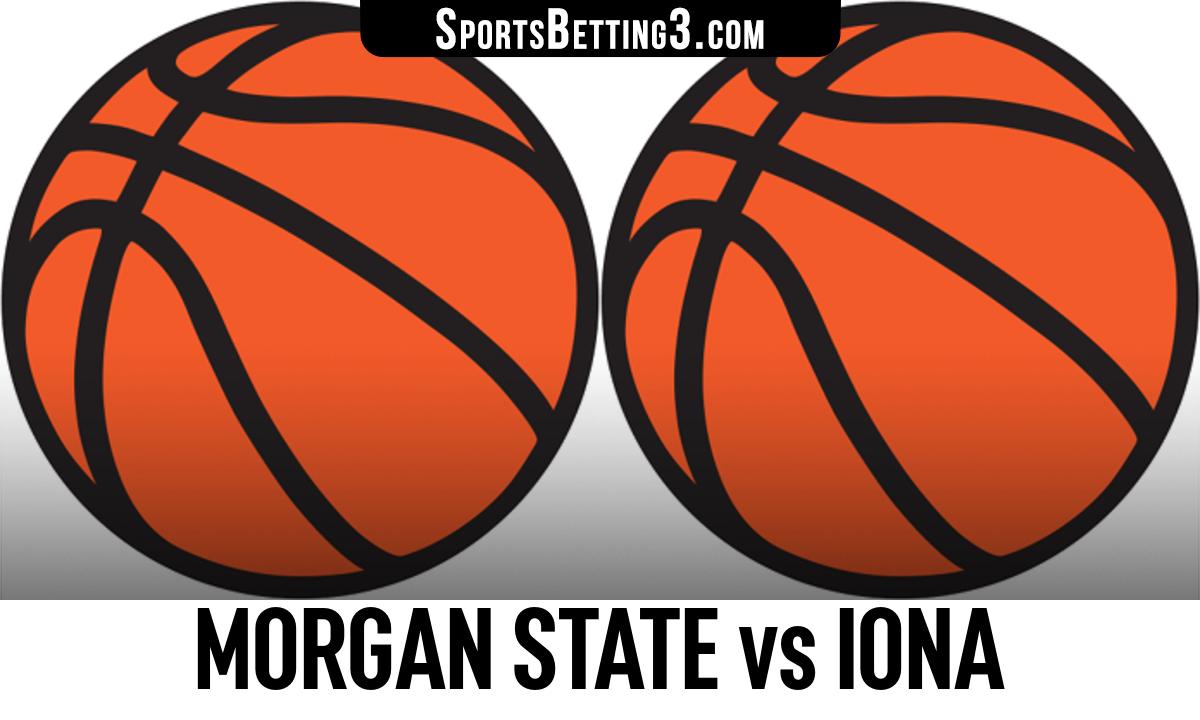 Morgan State vs Iona Betting Odds