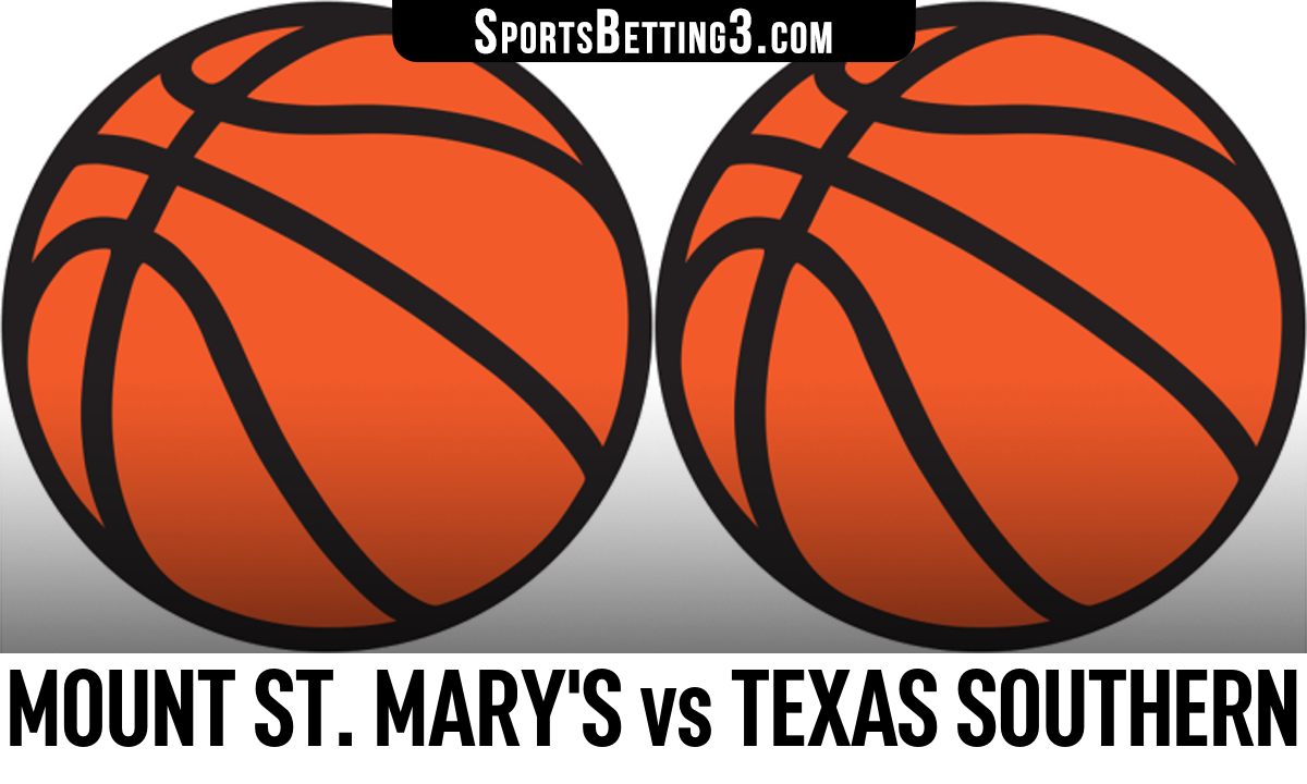 Mount St. Mary's vs Texas Southern Betting Odds