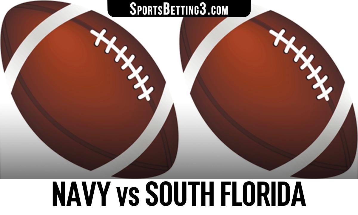Navy vs South Florida Betting Odds