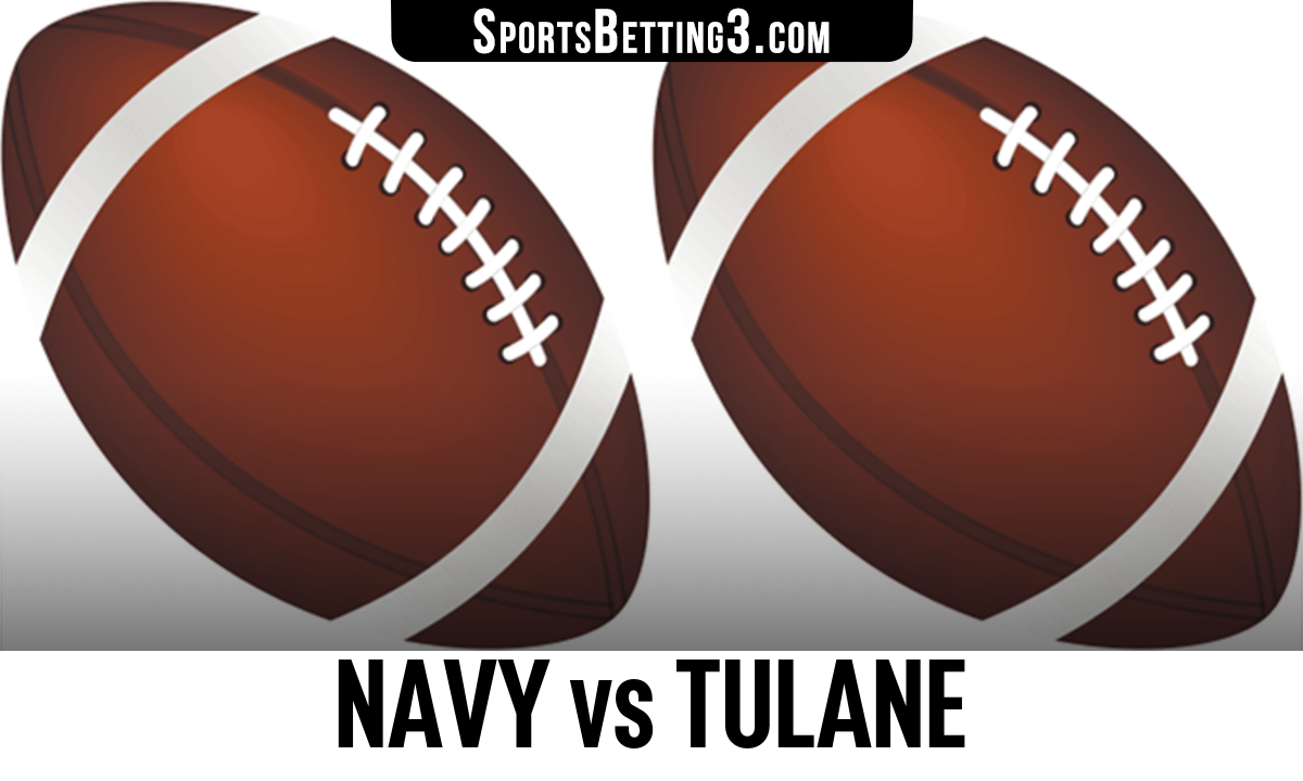 Navy vs Tulane Betting Odds