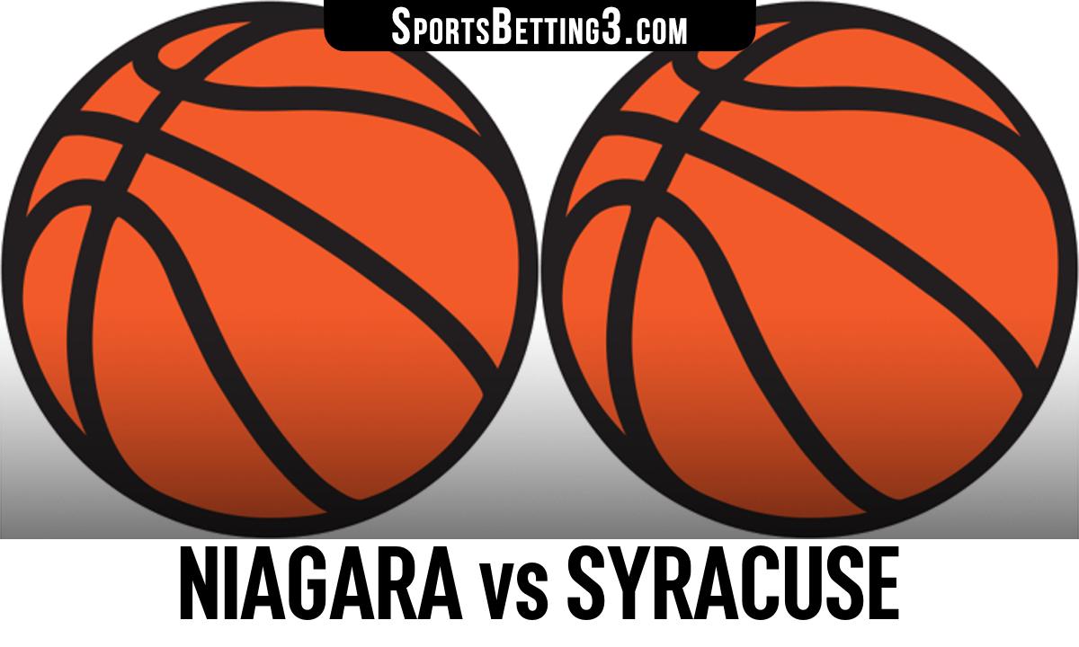 Niagara vs Syracuse Betting Odds