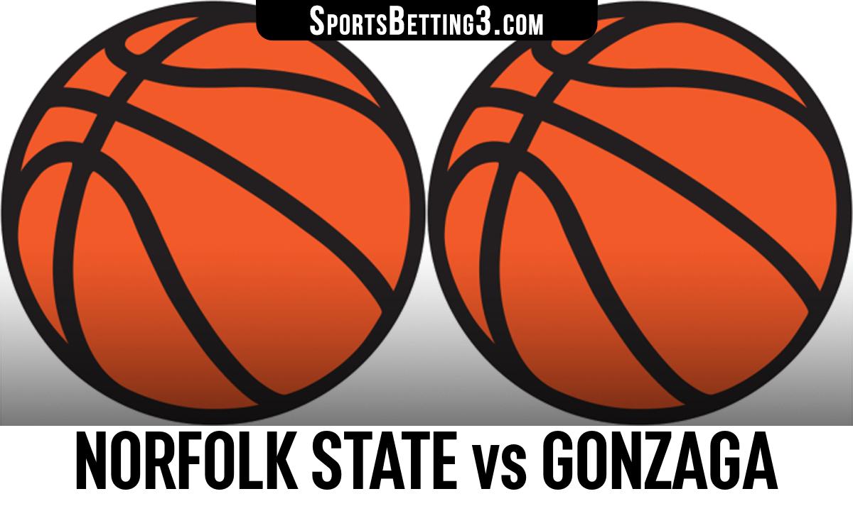Norfolk State vs Gonzaga Betting Odds