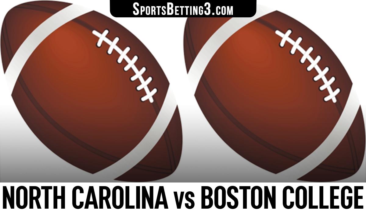 North Carolina vs Boston College Betting Odds