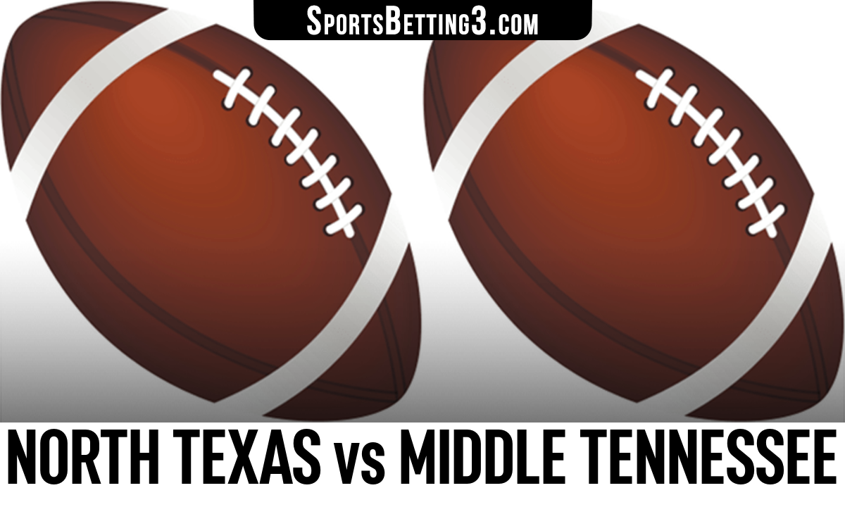 North Texas vs Middle Tennessee Betting Odds