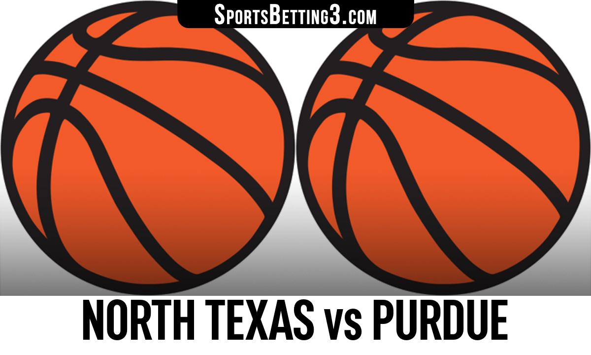 North Texas vs Purdue Betting Odds