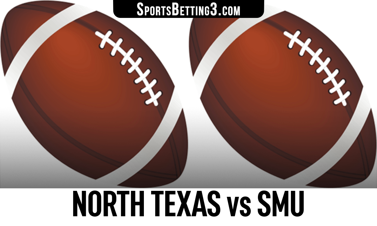 North Texas vs SMU Betting Odds