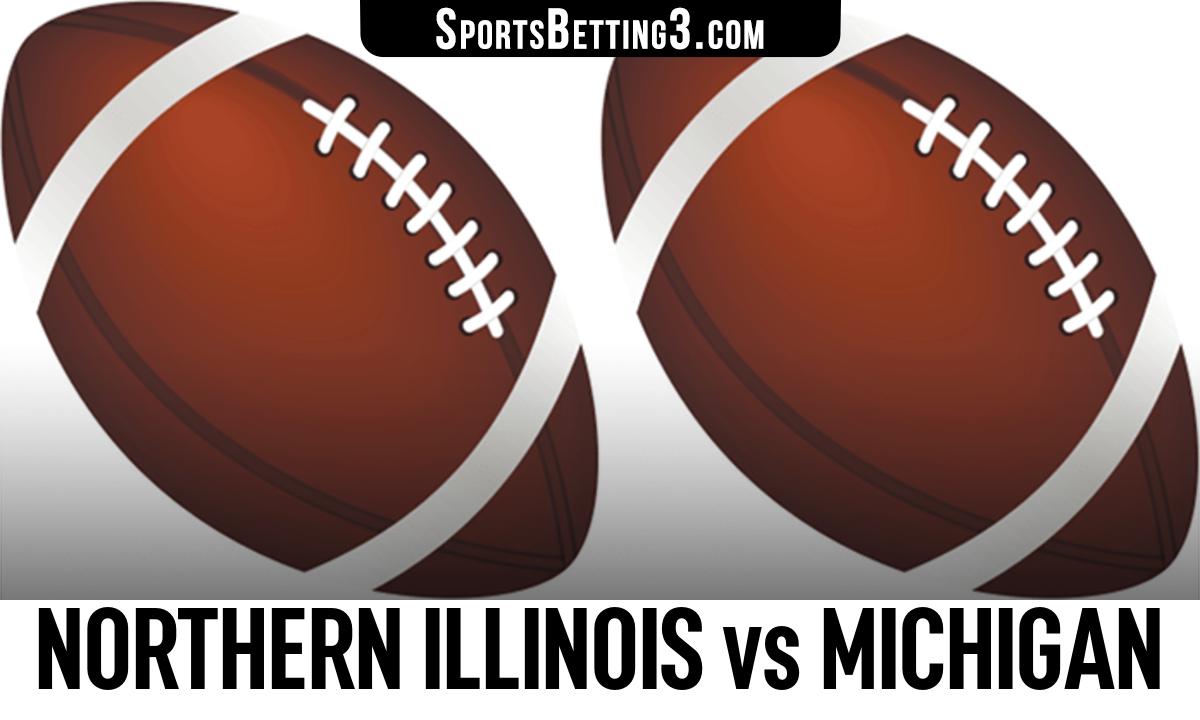 Northern Illinois vs Michigan Betting Odds