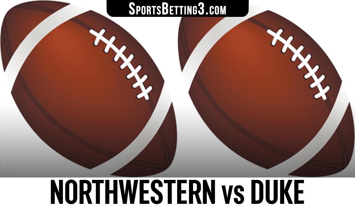 Northwestern vs Duke Betting Odds