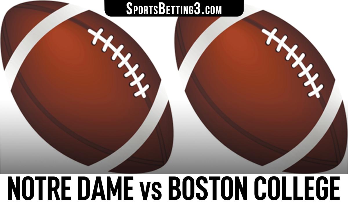 Notre Dame vs Boston College Betting Odds