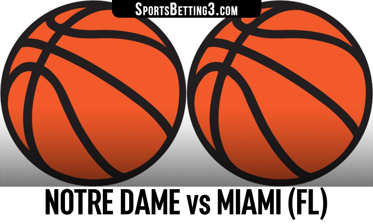 Notre Dame vs Miami (FL) Betting Odds