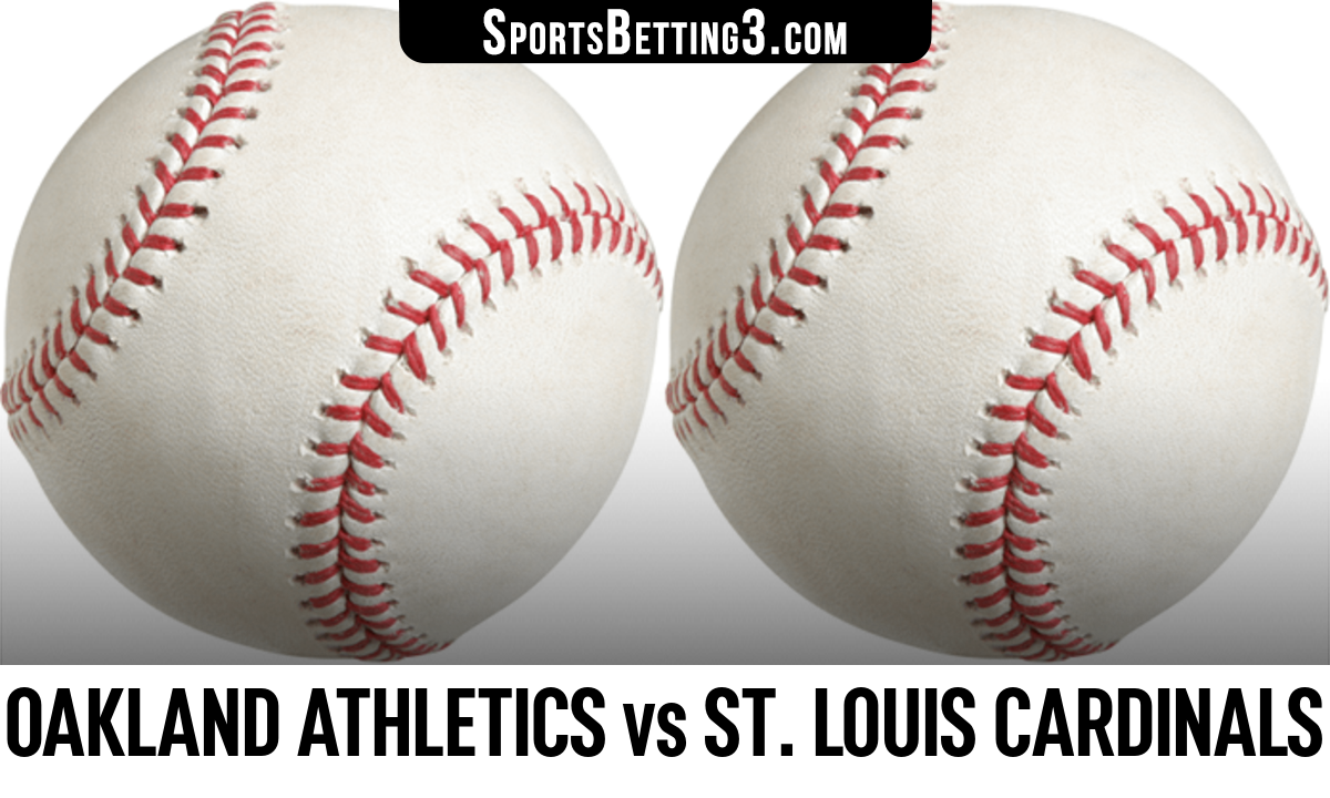 Oakland Athletics vs St. Louis Cardinals Betting Odds