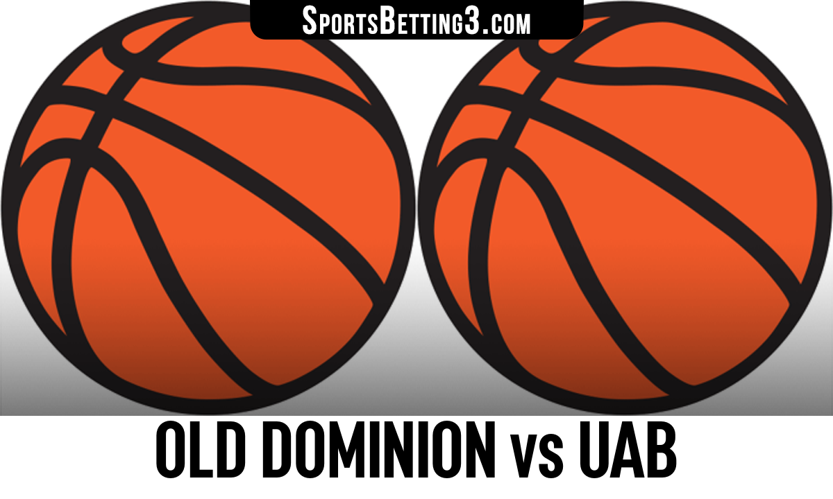 Old Dominion vs UAB Betting Odds