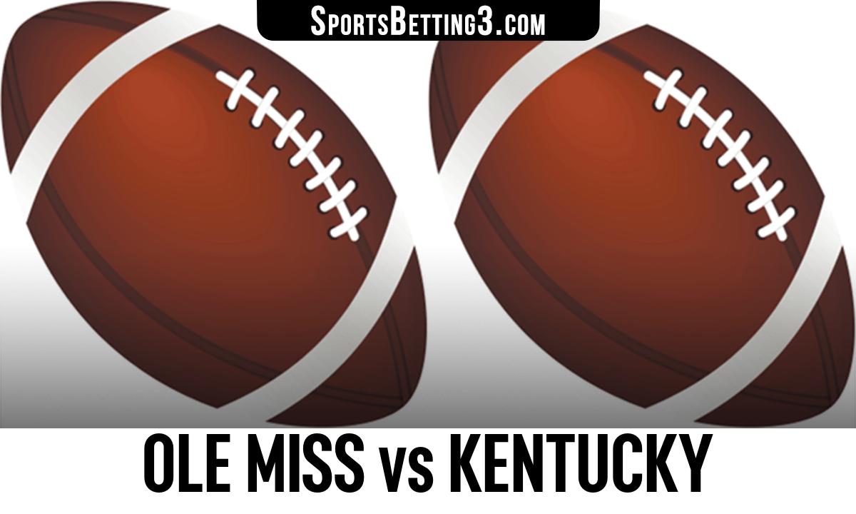 Ole Miss vs Kentucky Betting Odds