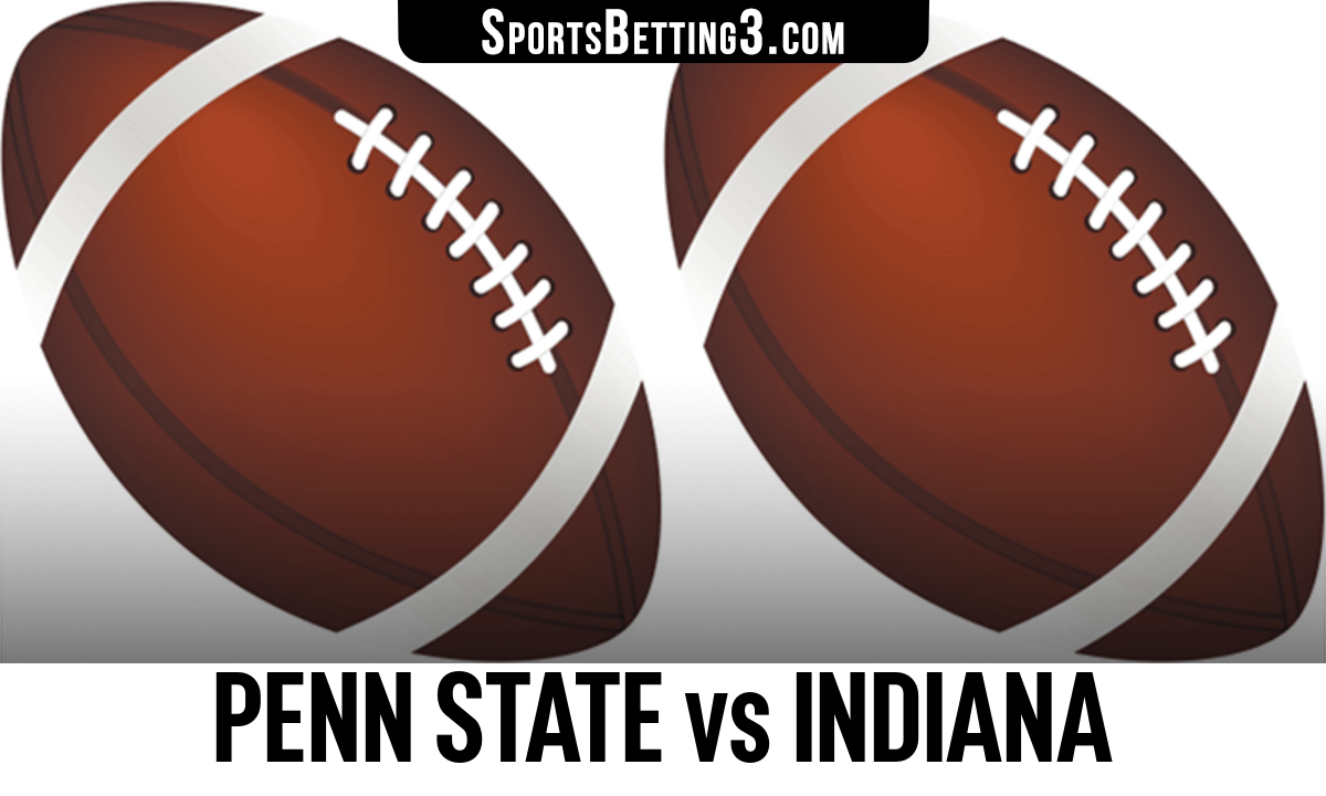 Penn State vs Indiana Betting Odds