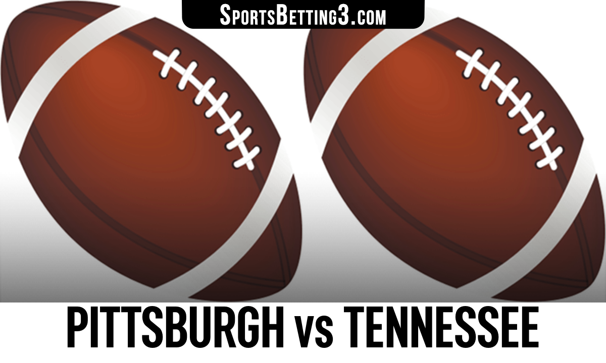Pittsburgh vs Tennessee Betting Odds
