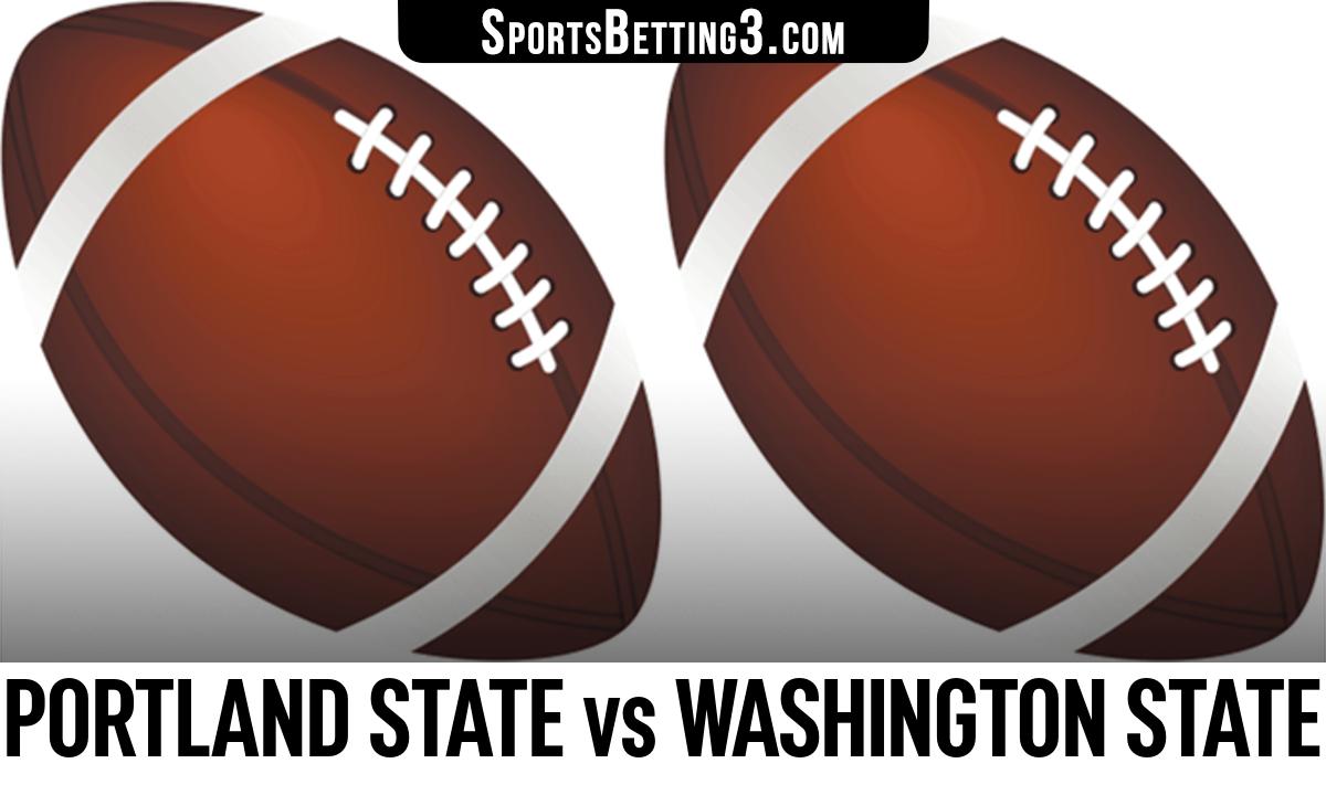 Portland State vs Washington State Betting Odds