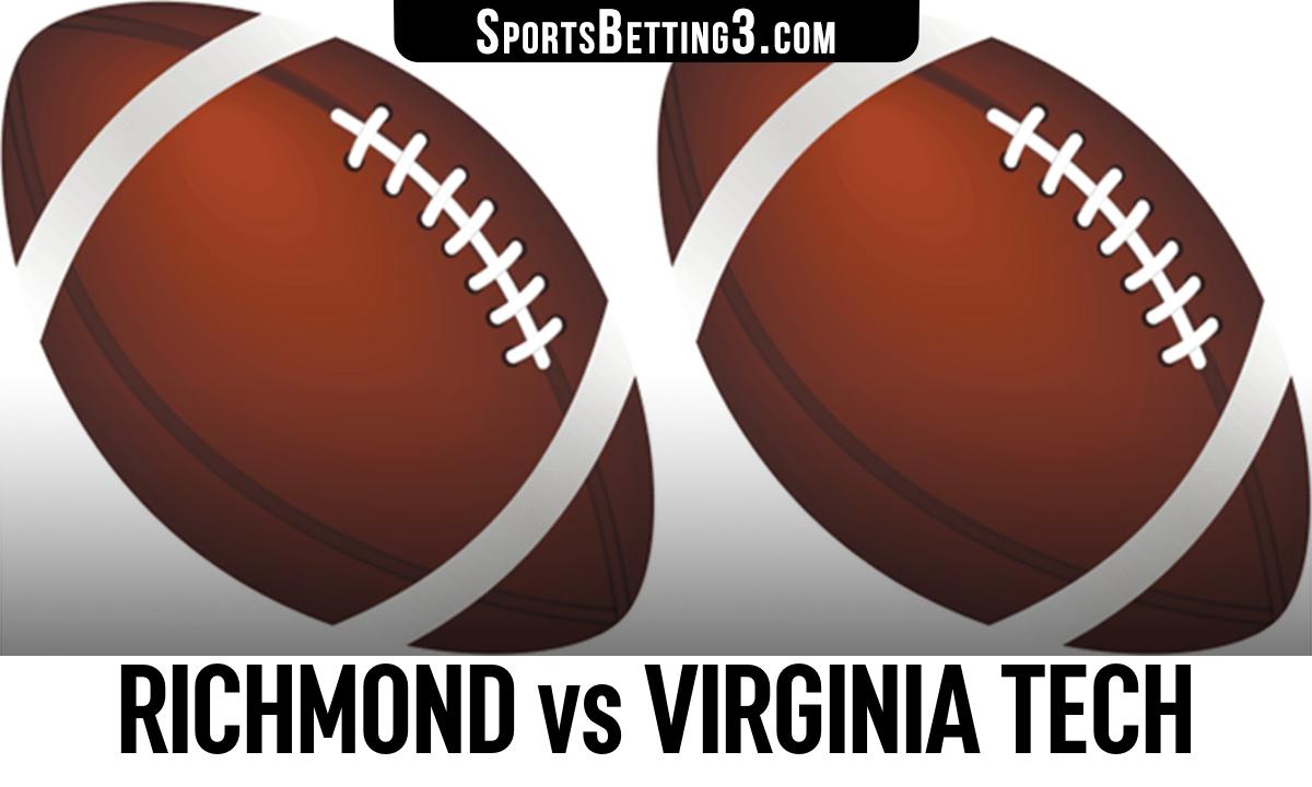 Richmond vs Virginia Tech Betting Odds