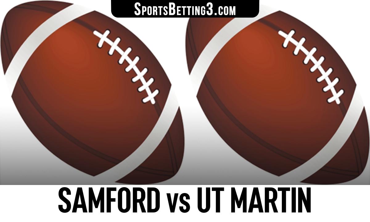 Samford vs UT Martin Betting Odds