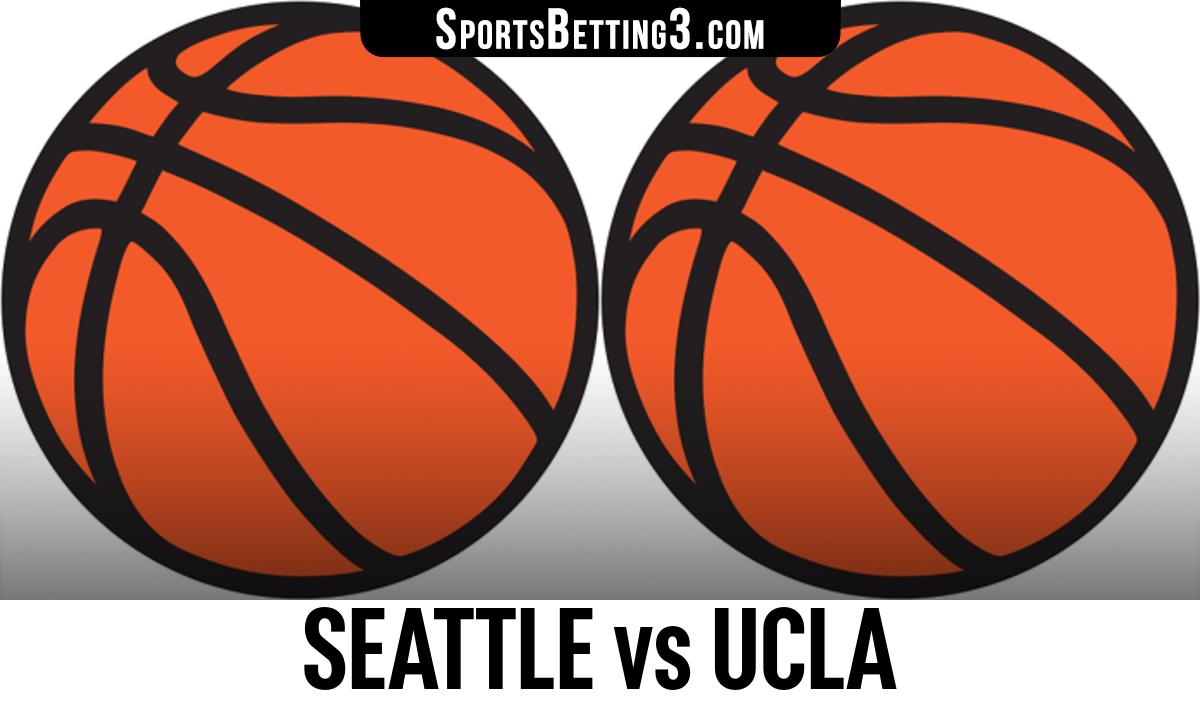 Seattle vs UCLA Betting Odds