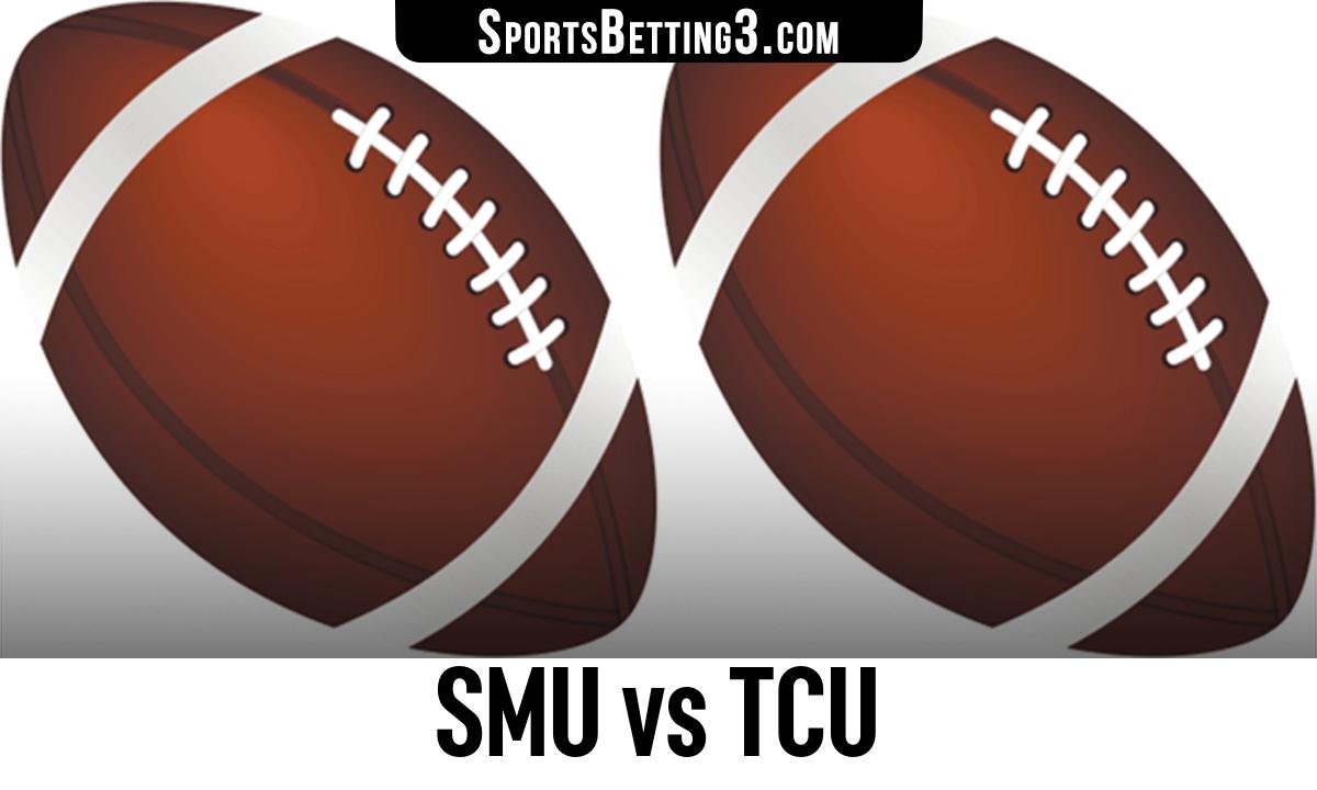 SMU vs TCU Betting Odds