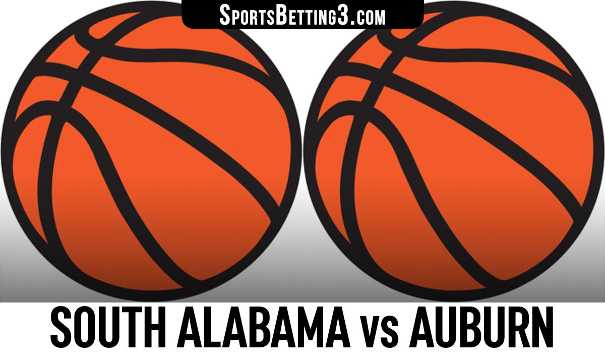 South Alabama vs Auburn Betting Odds