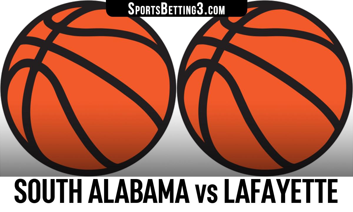 South Alabama vs Lafayette Betting Odds
