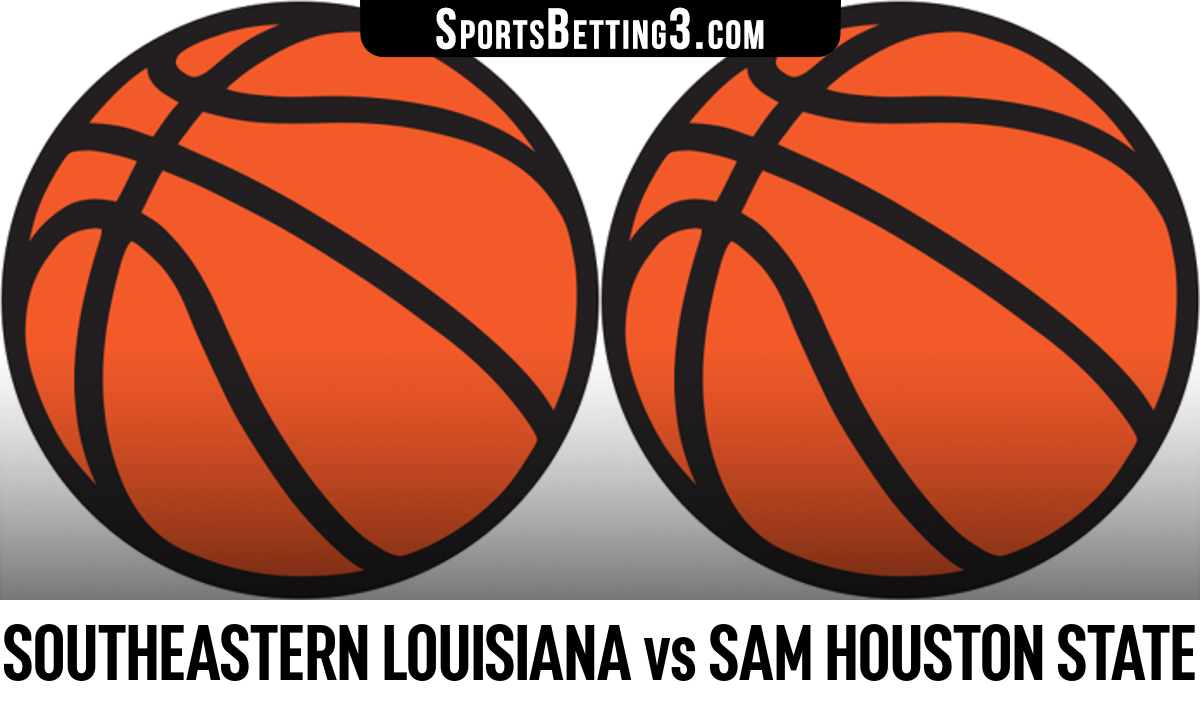 Southeastern Louisiana vs Sam Houston State Betting Odds