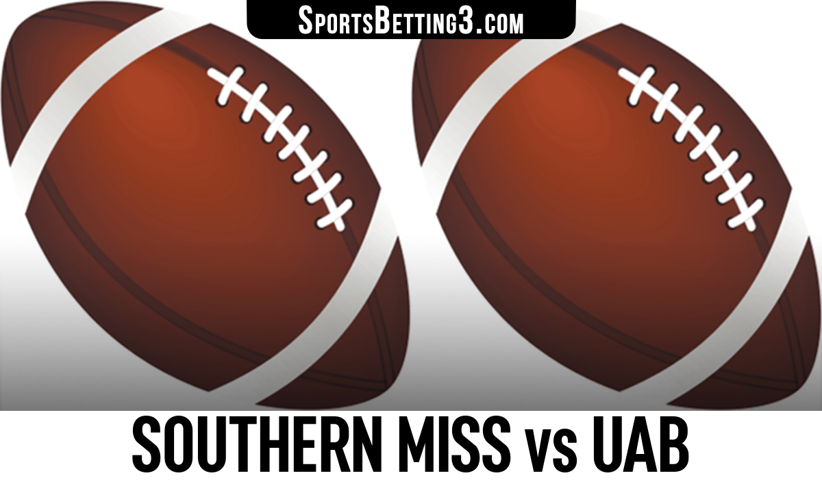 Southern Miss vs UAB Betting Odds